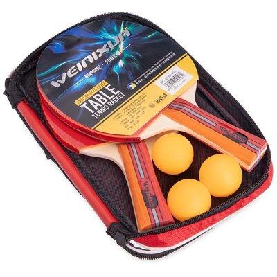 Набор для настольного тенниса Weinixun 2113 2 ракетки 3 мяча