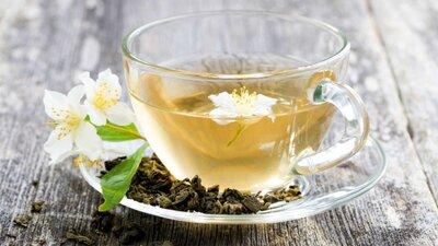 Чай мятный с лепестками акации. Вес 25 грамм