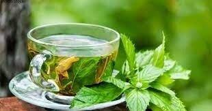 Чай чабрец с листьями малины. Вес 25 грамм