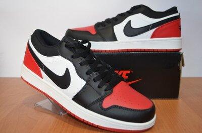 Кожаные кроссовки Nike Jordan.