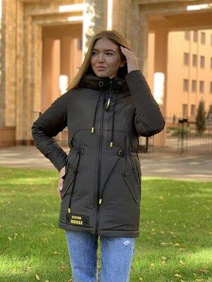 Парка куртка деми куртка еврозима 44 52