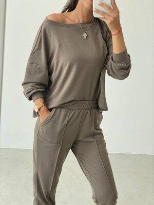 Р.42-44,46-48 спортивный костюм женский прогулочный 62102g