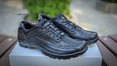 Мужские кожаные кроссовки E Style