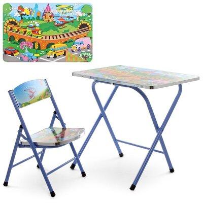 Дитячий складаний столик зі стільчиком A19-TC