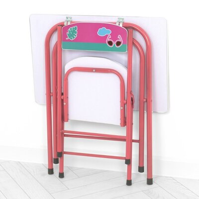 Дитячий складаний столик зі стільчиком A19-FMG