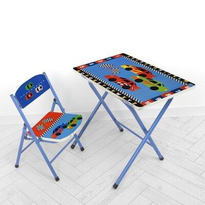 Дитячий складаний столик зі стільчиком A19-RCAR