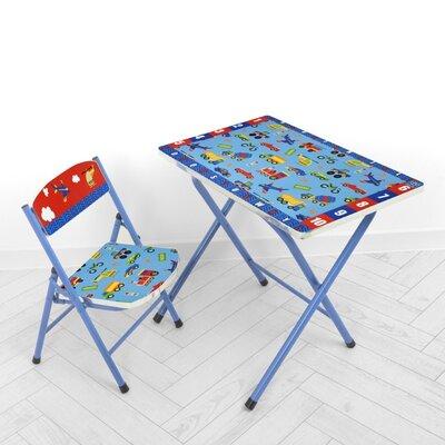 Дитячий складаний столик зі стільчиком A19-TRAFIC