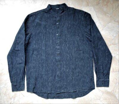 рубашка Livergy размер М 50-52 лён/хлопок