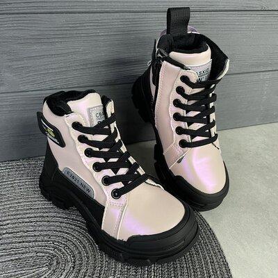 Продано: Чудові демісезонні ботинки