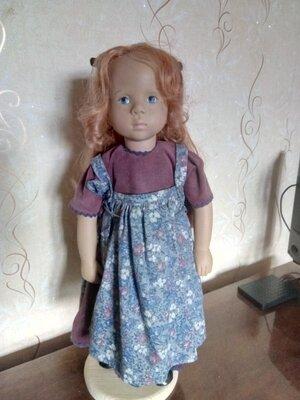 Рыжуля Фанечка кукла Gotz Sylvia Natterer