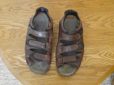 Продано: Босоніжки-Сандалі шкіряні 46 розмір стелька 30,8 см Finn Comfort