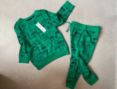 Костюм, комплект утеплённый, штаны кофта свитшот George