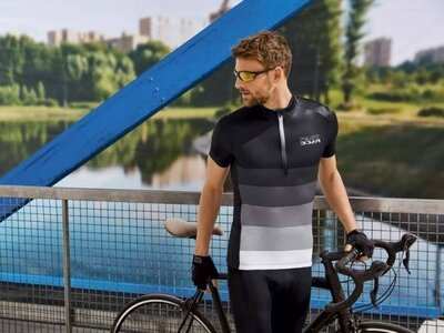 Велофутболка мужская р.XL спортивная футболка Crivit, Германия