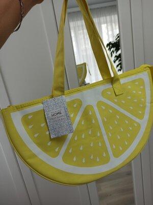 Пляжная термо сумка, для пикника, для моря Primark 46х19х25
