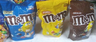 Драже M&M's Шоколад Солодке драже з арахісом від виробника M&M's. З різнокольоровою глазур'ю Драже M
