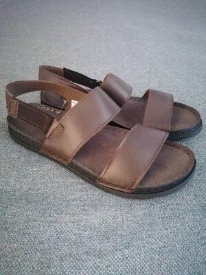 Легкие кожаные сандалии inblu