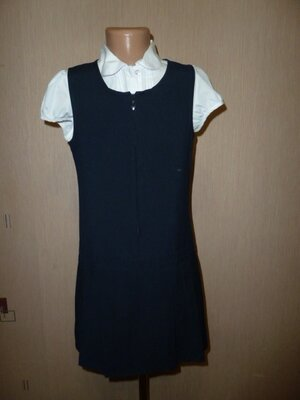 Marks&Spencer Школьный сарафан , школьное платье на 8-9 и 9-10 лет состояние нового