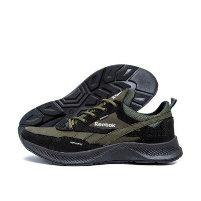 Мужские кожаные кроссовки Reebok FLEXLIGHTX Olive