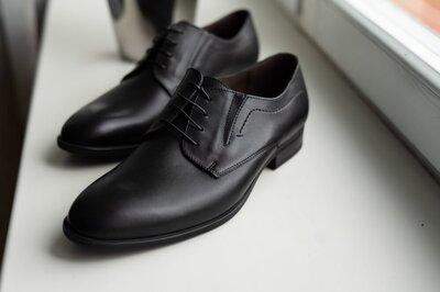 Шкіряні чоловічі туфлі