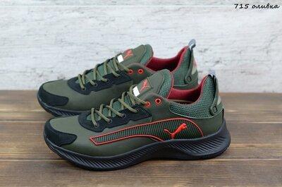 Продано: Мужские кожаные кроссовки Puma