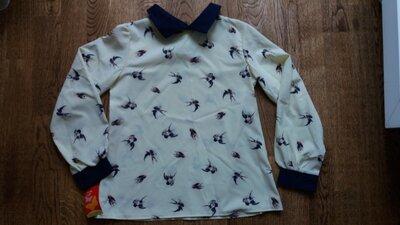 новая блуза на девочку, р.134-140