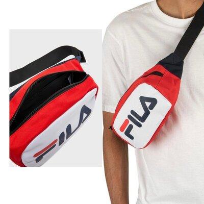 Продано: Спортивная мужская сумка fila новая оригинал поясная молодежная барсетка кроссбоди чоловіча синяя