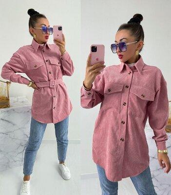 Р 42-44,46-48,50-52 рубашка вельветовая женская 7115vor