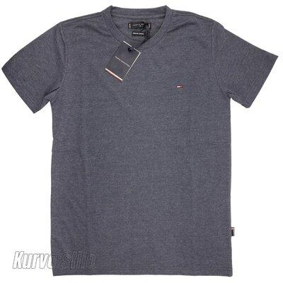 Продано: Мужская футболка Tommy Hilfiger, цвет серый, разные размеры в наличии