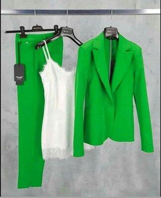 Костюм жіночий штани піджак двійка 38-70 розм, різні кольори