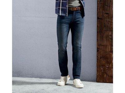 Синие мужские джинсы, slim fit, m-l 48, 32-32 , Livergy, Германия