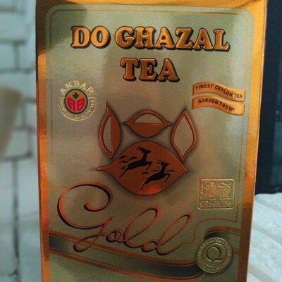 Чай черный цейлонский Do Ghazal Tea Gold 500g AKBAR две газели голд Акбар цейлонский Шри-Ланка