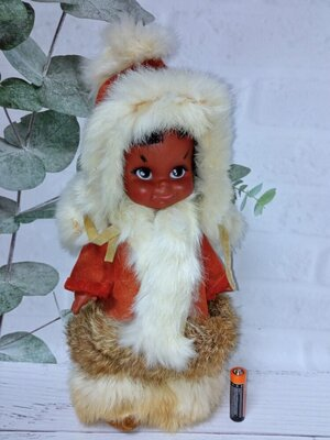 Кукла эскимос винтаж Reliable Канада состояние новой
