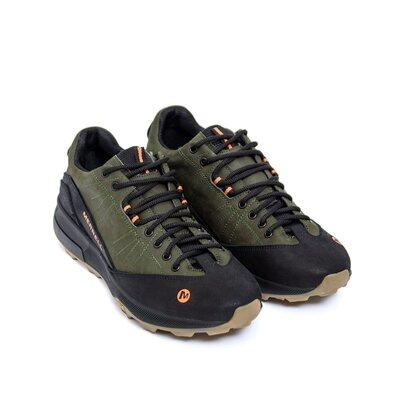 Мужские кожаные кроссовки Merrell Green