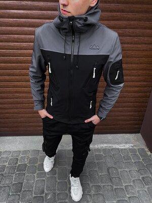 Мужская куртка LEV, 4 цвета, размеры в наличии