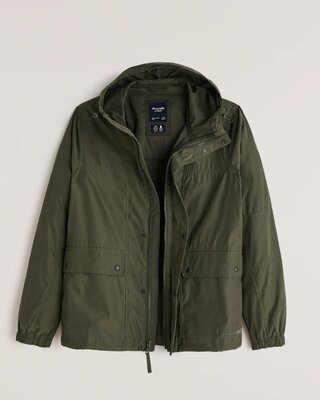 Продано: Классическая куртка-ветровка Abercrombie & Fitch Аберкромби. Оригинал