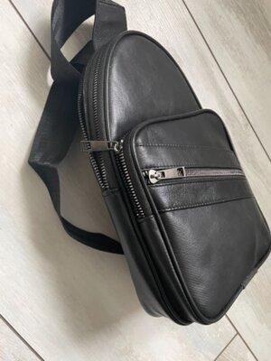Мужская сумочка кожа натуральная