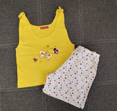 Майка-Топ и шорты на 4-6 лет