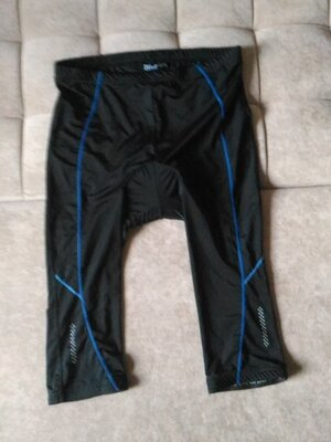 Велошорты, спортивные шорты Crivit Германия Цвет чёрный размер xl