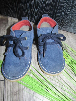 Продано: Замшевые ботинки kickers eu р. 25 - 15,8 см