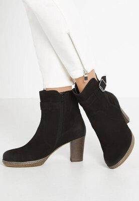 Продано: Gabor замшевые ботинки р. 7- 26см