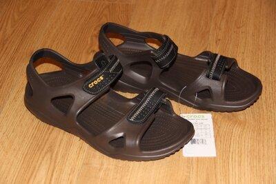 Мужские сандалии босоножки Crocs Swiftwater M9, М10 Оригинал Крокс