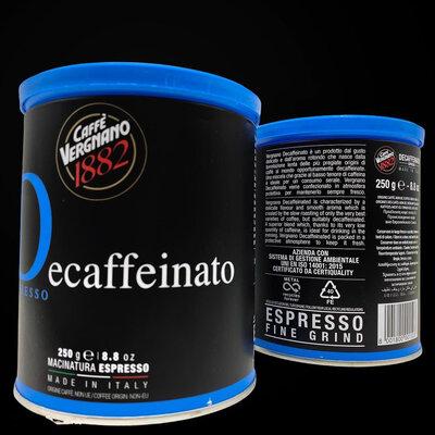 Молотый кофе Decaffeinato без кофеина