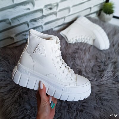 Ботинки женские белые Ботінки жіночі білі