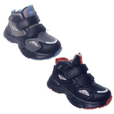 Утепленные демисезонные кроссовки, ботинки том.м мальчикам, р.27-32