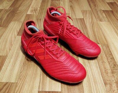Мужские бутсы adidas predator 19.3 fg 26,5 см