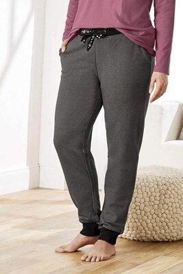 Женские штаны для отдыха и прогулок с начесом esmara большой размер батал