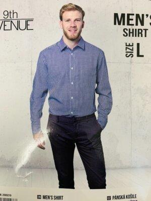 Мужская рубашка в клетку 9TH Avenue р.L