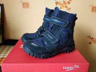 Продано: Сапоги ботинки Superfit зима 34 22 см стелька