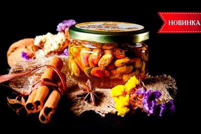 Фисташка в мёде / Орехи в мёде / Фисташка в меду / Орехи в меду / Фисташка с мёдом