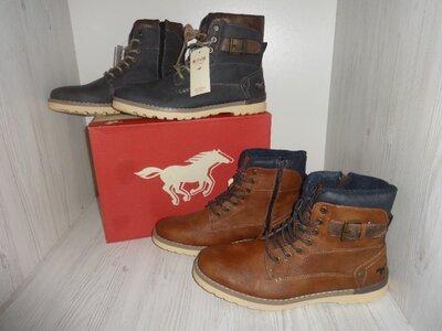 Mustang Original Германия 42-43-44-45-46 мужские зимние ботинки оригинал